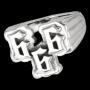 666 Ring (zilver)
