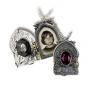 Alchemy Gothic - Gravestone Locket Pendant