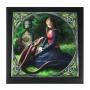 Altaardoosje Secret Garden (Anne Stokes) hout/keramiek