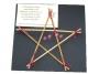 Ambachtelijk pentagram XL