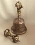 Antieke bel en dorje Tibetaans groot