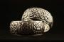 Armband Boeddhistische gelukssymbolen breed met vakken