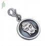 Bedel Boeddha hoofd munt (zilver)