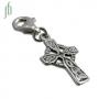 Bedel Keltisch kruis (zilver)
