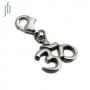 Bedel Ohm open (zilver)