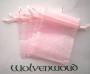 Buideltje roze organza