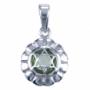 Chakra's 4 - Hart chakra (zilver, peridoot)