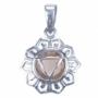 Chakra's 3 - Navel chakra (zilver, citrien)