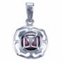 Chakra's 1 - Wortel chakra (zilver, granaat)