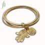 Eco Gipsy armband met Chamsa amulet