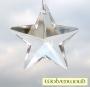 Feng shui kristal / regenboogkristal - pentagram 5 cm