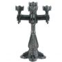 Gothic industrial / steampunk kandelaar