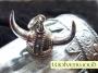 Grote Viking helm (zilver)