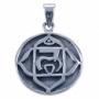 Hanger chakra 1 - Wortel chakra (zilver)