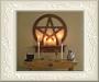 Het altaar van de Wiccan