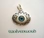 Het blauwe oog amulet