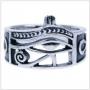 Horus oog ring (zilver)