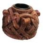 Kaarsenhoude Keltisch knoopwerk - hout afwerking