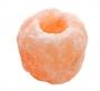 Zoutkristal waxine houder / sfeerlicht (groot)
