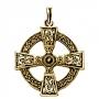Keltisch kruis (verguld)