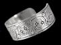 Keltische armband met spiralen (tin)