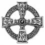 Keltische broche (verzilverd)
