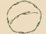 Keltische ketting met jachthonden (brons)