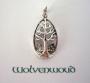 a Keltische levensboom (zilver)