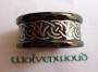 Keltische ring (edelstaal, geëloxeerd)