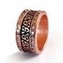 Keltische ring brons