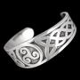 Keltische triqueta armband (tin)