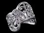 Kroon ring (zilver)