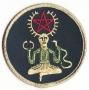 Patch - Cernunnos met pentagram
