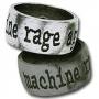 Rage against the machine ring (tin)