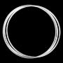Rinkelarmbandjes set (zilver)