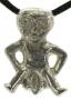 Sheela-na-Gig amulet (tin)