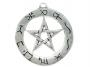 Sigils of the craft - Planetary pentagram (zilver)