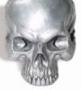 Skull bead (zilver)
