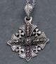 St. Justin Jeruzalem kruis met ketting