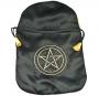 Tarot buidel pentagram zwart satijn