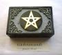 Tarot doos / sieradendoos steen met pentagram