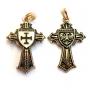 Teutoons kruis (verguld)