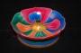 Tibetaanse wierookhouder lotus - gekleurd L