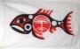 Vlag van de Chinook Indianen