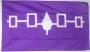 Vlag van de Irokezen Indianenstam