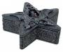 Gothic Wiccan altar box Pentagram